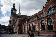 train station in Gdańsk/ dworzec kolejowy w Gdańsku