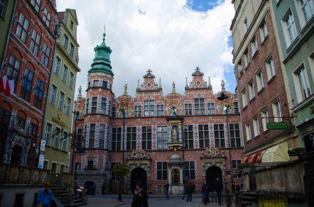 Golden Gate in Gdansk/ Złota Brama w Gdańsku