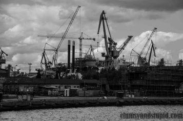 Shipyard in Gdańsk/ Stocznia Gdańska