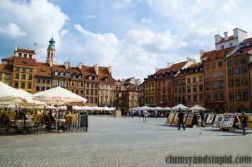 Old Town Warsaw/ Stare Miasto w Warszawie