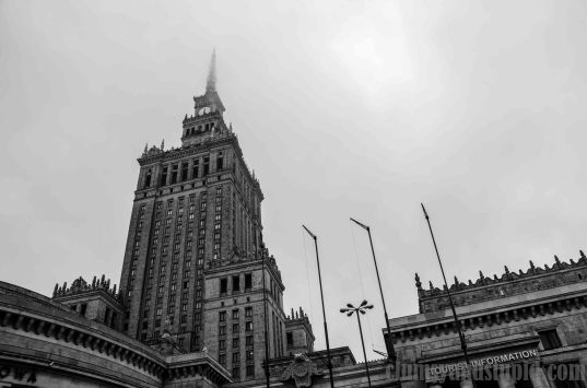 Palace of Culture and Science in Warsaw/ Pałac Kultury i Nauki