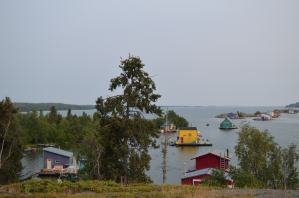 Houseboats/ Domki na wodzie