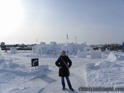 Snow Castle in 2012/ Śniegowy Zamek z 2012 roku