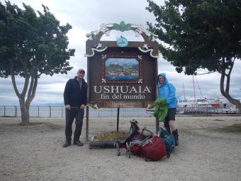 Ushuaia - most southern city in the world / najbardziej na poludnie polozone miasto na swiecie